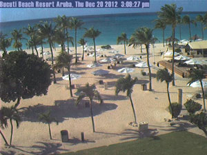 View of a beach in Aruba