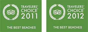 Trip Advisors Traveler's Choice of Best Beaches of 2011 and 2012