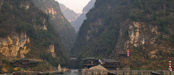 remote villages on the Yangze River