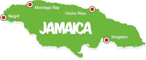 Jamaican Island Vacations Caribbeans Leading Destination: Jamaica Island Map At Infoasik.co