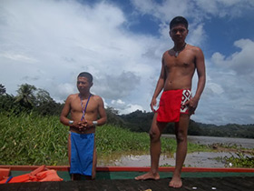 two young panama men